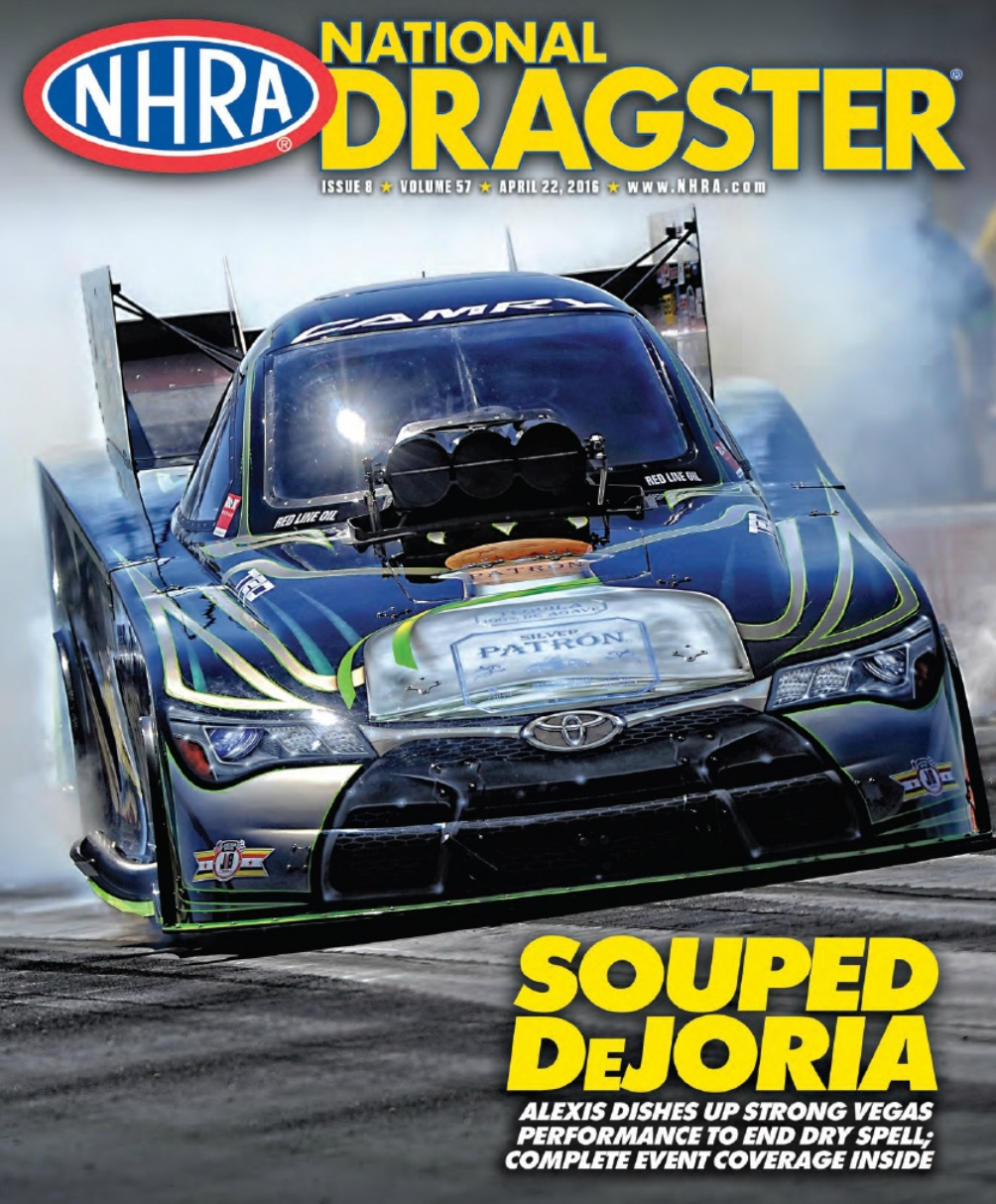 National Dragster April Cover