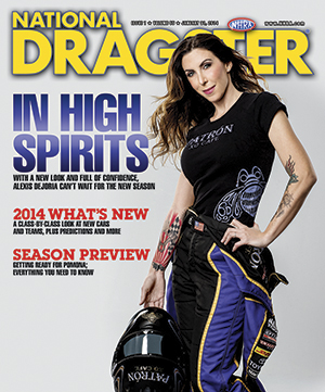 National Dragster Feb 2014 Cover