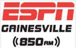WRUF 850AM ESPN Gainesville LOGO